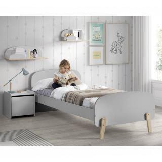 Ensemble chambre enfant INFINI gris couchage 90 x 200cm