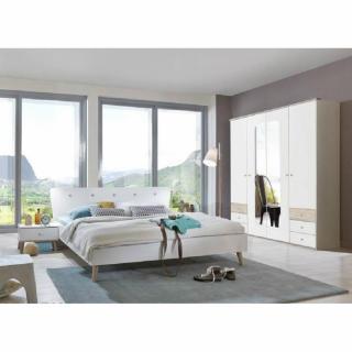 Ensembre chambre à coucher VIBORG 180*200cm style scandinave