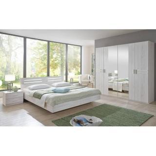 Chambre à coucher IDAHO chêne blanc