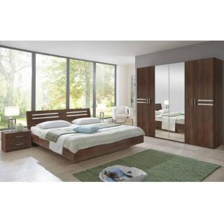 Chambre à coucher IDAHO noyer