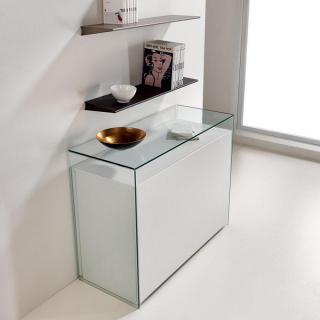 Console extensible le gain de place tendance au meilleur prix ensemble lot - Console extensible verre ...