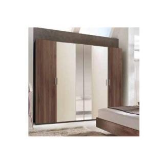 Chambre à coucher THALIA noyer/beige