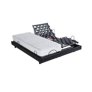 BULTEX Ensemble de relaxation  WAVE 600D avec matelas I NOVO 315 couchage 2*80*200cm