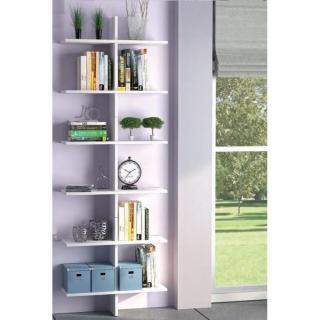 etag res murales meubles et rangements etag re design murale vittoria blanche inside75. Black Bedroom Furniture Sets. Home Design Ideas