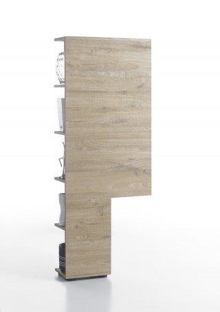Etagère design VERONA decor chêne