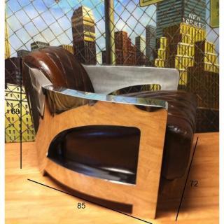 Fauteuils design canap s et convertibles fauteuil club aviateur prestige en - Fauteuil club aviateur ...