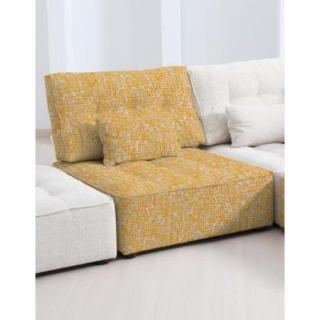 FAMA Chauffeuse modulable ARIANNE LOVE à motifs jaune 1 place