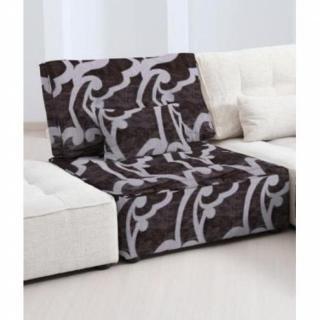 FAMA Chauffeuse modulable ARIANNE LOVE motifs noir et gris clair 1 place