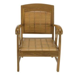 fauteuils poufs design au meilleur prix fauteuil dak en bambou et teck style colonial inside75. Black Bedroom Furniture Sets. Home Design Ideas