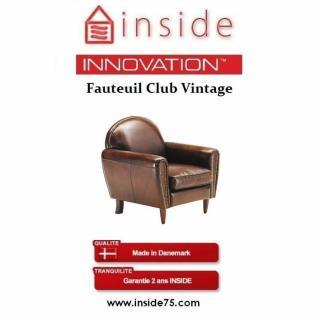 canap club en tissu ou cuir vieilli au meilleur prix fauteuil club tradition vintage cuir. Black Bedroom Furniture Sets. Home Design Ideas