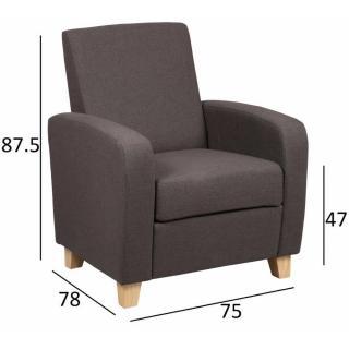 Fauteuils design, canapés et convertibles, Petit fauteuil SEATED ...