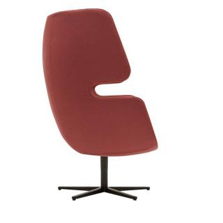 Fauteuil pivotant design MOAI SWIVEL  SOFTLINE