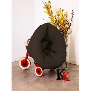 Fauteuil lit enfant NEST futon marron couchage 75*150*10cm