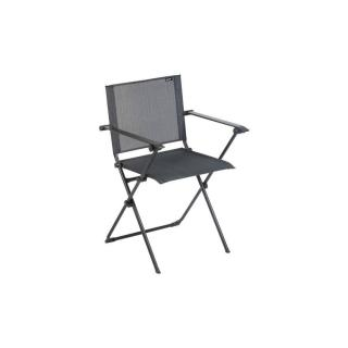 Fauteuil pliant ANYTIME couleur obsidian