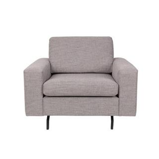 ZUIVER Fauteuil JEAN tissu gris