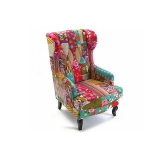 Fauteuil RIO KING patchwork