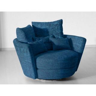 FAMA Fauteuil pivotant design MYNEST bleu