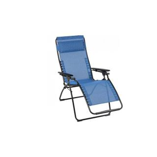 Fauteuil relax FUTURA multi-position couleur bleu outremer