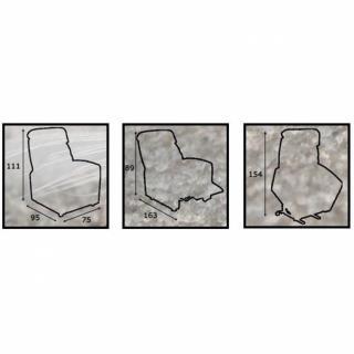 ORIGIN fauteuil relax et releveur électrique (bi-moteur) microfibre marron glacé
