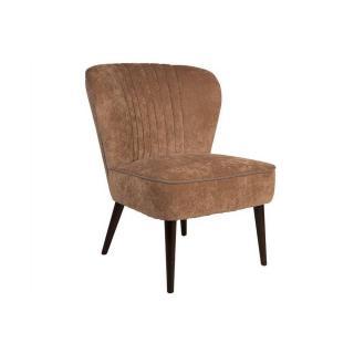 DUTCHBONE Petit fauteuil SMOKER  tissu beige