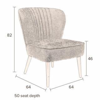 chauffeuses canap s et convertibles dutchbone petit fauteuil smoker tissu gris fonc inside75. Black Bedroom Furniture Sets. Home Design Ideas