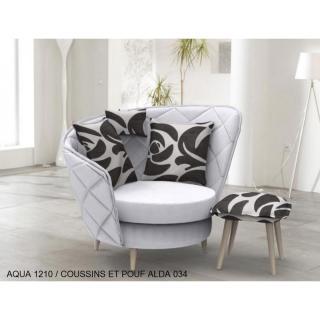 fauteuils design canap s et convertibles fama fauteuil relax pivotant volta style scandinave. Black Bedroom Furniture Sets. Home Design Ideas