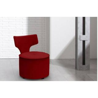 FAMA Fauteuil design ZIPI rouge