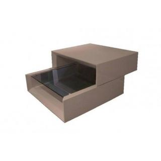 Chaises meubles et rangements grind coffee table - Table basse taupe ...