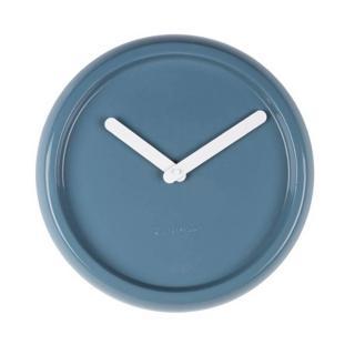 Horloge Zuiver CERAMIC TIME en ceramique bleu