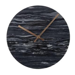 Horloge Zuiver MARBLE TIME marbre gris