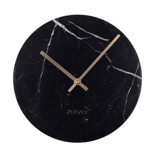 Horloge Zuiver MARBLE TIME marbre noir