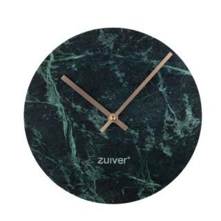 Horloge Zuiver MARBLE TIME marbre vert
