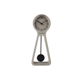 Horloge ZUIVER PENDULUM TIME CONCRETE black en béton