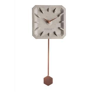 Horloge ZUIVER TIK TAK copper en béton
