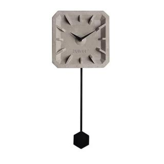 Horloge ZUIVER TIK TAK black en béton