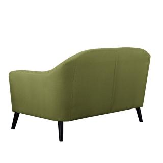 Canapé 2 places style scandinave IGEA tissu tweed vert