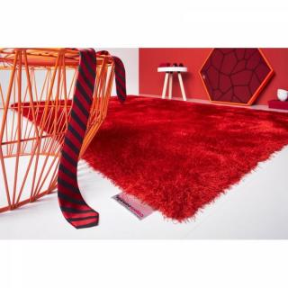 COLOURCOURAGE DESIGN Tapis INFINITY rouge 170x240 cm