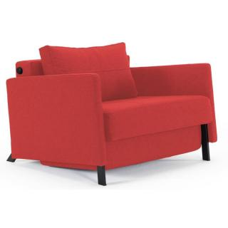 Fauteuil design avec accoudoirs SOFABED CUBED ARMS convertible 200*96 cm