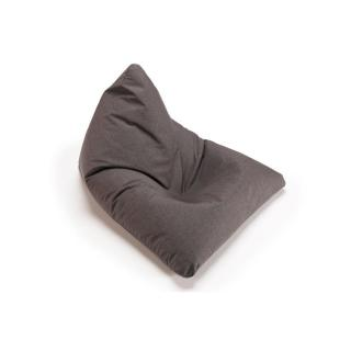 INNOVATION LIVING  pouf design SOFT PEAK gris dark grey