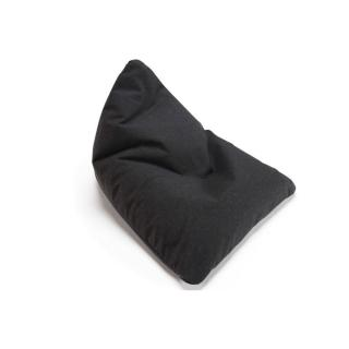 INNOVATION LIVING  pouf design SOFT PEAK noir nist black