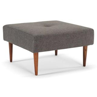 INNOVATION LIVING  Pouf design RECAST PLUS SPECIAL Flashtex Dark Grey