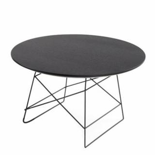 INNOVATION LIVING  GRID table basse design taille XL en chêne wengué