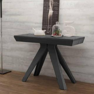 Table console Extensible JACK Gris Anthracite