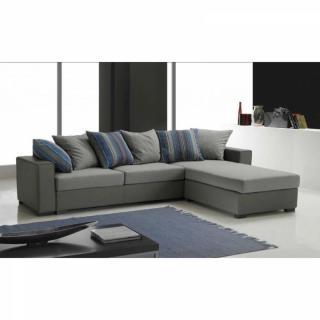 canap s convertibles ouverture rapido canap d 39 angle r versible kennett tweed gris clair et. Black Bedroom Furniture Sets. Home Design Ideas