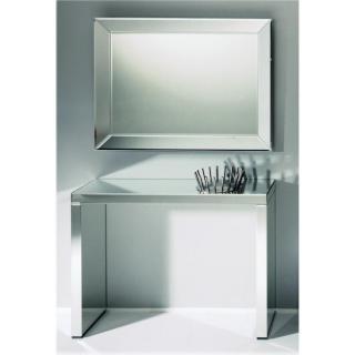KEOPS Ensemble console et miroir grands modèles tout en verre