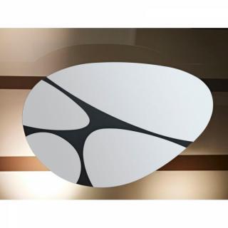 KINDLE Miroir mural design en verre dont le sens est orientable à volonté