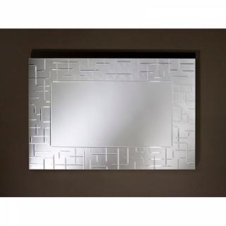 LABYRINTHE Miroir mural rectangulaire travaillé une pièce