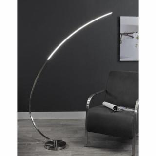 Lampadaire arc LUNE design acier éclairage LED
