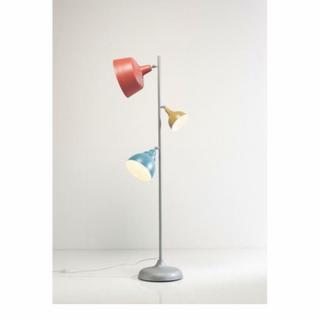 Lampadaire MULTI COLOR, 3 cloches.