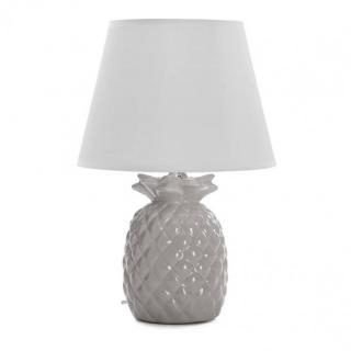 Lampe à poser ANASO en céramique gris
